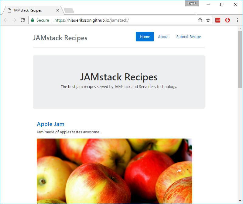 Building a JAMstack site with Hugo and Azure Functions | Conduct of Code